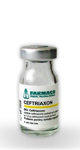Ceftriaxone farmaco local goods made in moldova for Fish antibiotics azithromycin