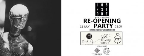 105/Store re-Opening Party