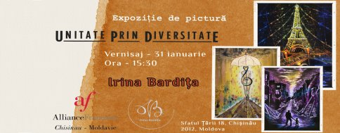 "Exhibition of Irina Bardita ""Unity through Diversity"""