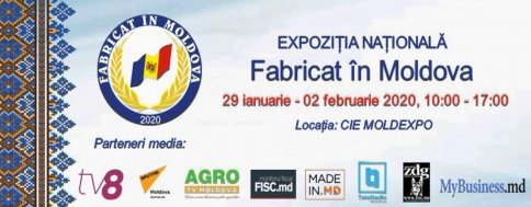 "National Exhibition ""Made in Moldova"" 2020"