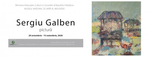 Personal Exhibition of the Artist Sergiu Galben