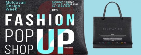 Fashion Pop Up Shop // Artcor / Moldovan Design Week