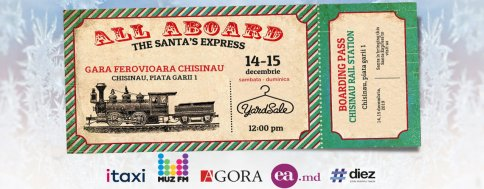 Yardsale: All Aboard! The Santa's Express