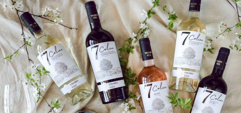 7 Coline - a New Range of Wines from Vinaria din Vale