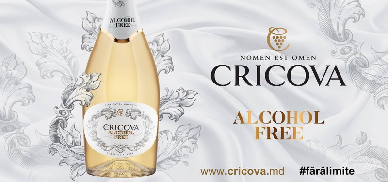 The First Alcohol Free Sparkling Wine Made in Moldova