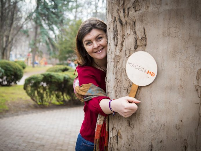 Interview with Angela Stafii about Products Made in Moldova