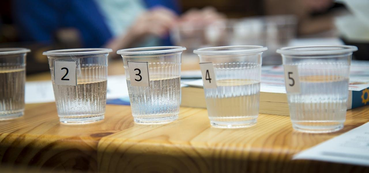 Campaign for Blind Tasting of Domestic Products. Fourth Edition – Moldovan Water. PHOTO