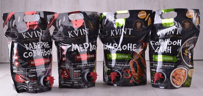 A New Wine Packing Solution from KVINT Factory