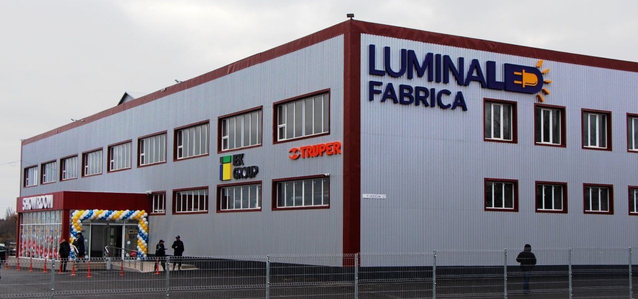 A New Factory in Moldova will Produce LED Lamps and other Lighting Solutions