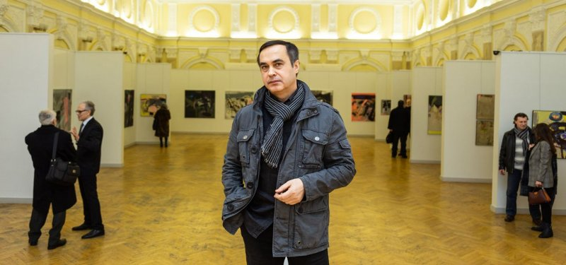 Museum of Arts Hosts the Exhibition of the Artist Vasile Rata. PHOTO