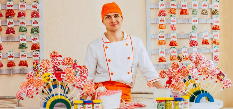 The First Caramel Candies Factory in Moldova, Operates in Tiraspol