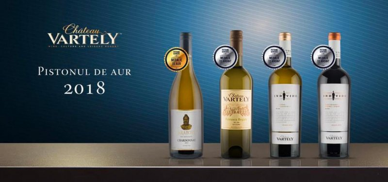 Chateau Vartely Wines Awarded at a Prestigious Contest in Romania
