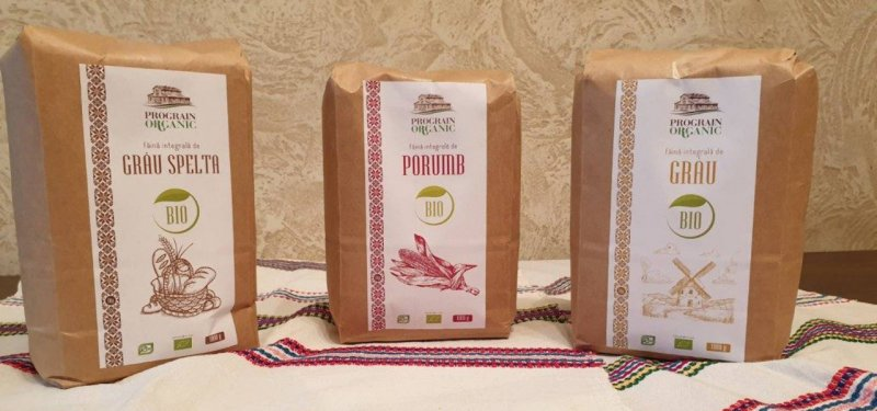 New Products on Moldovan Market: Wheat, Corn and Spelt Flour, Packaged and Ecologically Certified