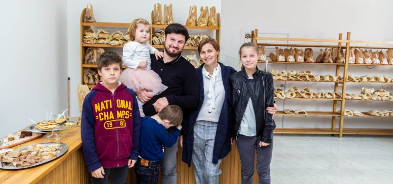 The Opening of a New Craft Bakery in Chisinau. PHOTO