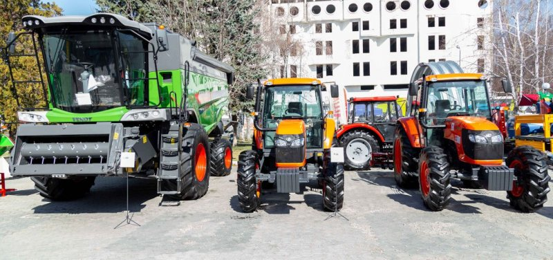 Newest Agricultural Products and Technologies Presented at Moldexpo Center in Chisinau. PHOTO