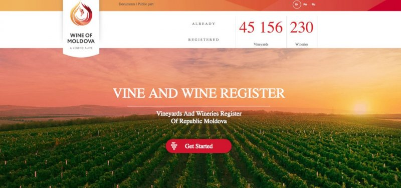 Vine and Wine Register of Moldova is now under the Authority of the National Office for Vine and Wine