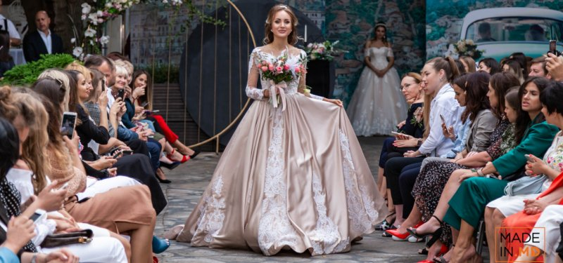 Dresses and other Wedding Outfits Presented at Mariage Soirée 2019. PHOTO