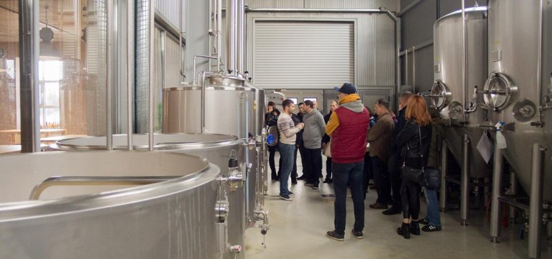 Beer Tour. A Trip to Breweries Litra, LumenCraft and Gotter. PHOTO
