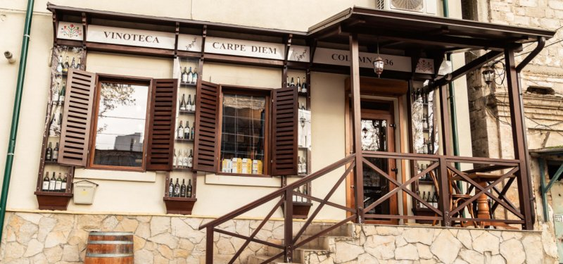 Chisinau Wine Shops: Carpe Diem Wine Shop & Bar