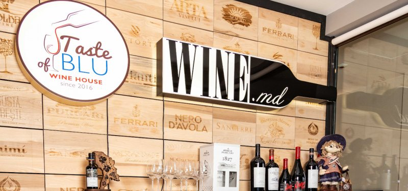Chisinau Wine Shops: Taste of Blu Wine House and Shop