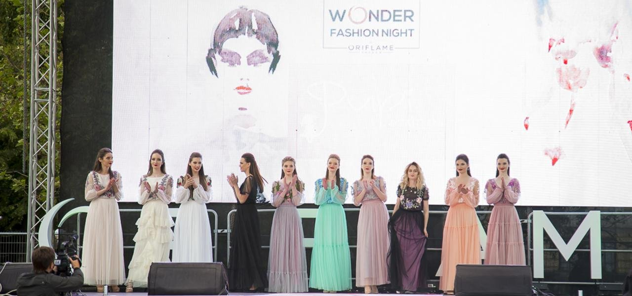 Wonder Fashion Night by Oriflame. Prezentarea colecțiilor vestimentare. FOTO