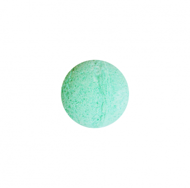 Bath bomb peppermint essential oil