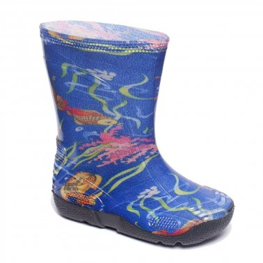 Boots with print