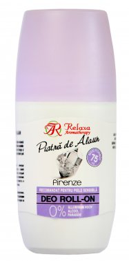 Natural Deodorant Alum Firenze Roll On