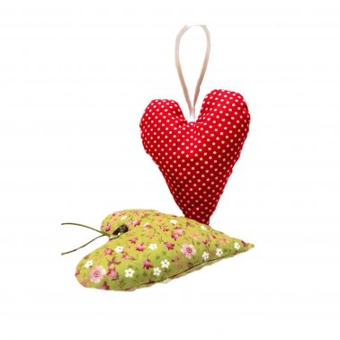 Heart-shaped Lavender Bags