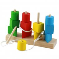 Shape sorter and stacking toys