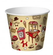 Cups for popcorn 120oz