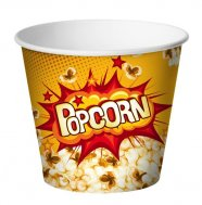 Cups for popcorn 198oz