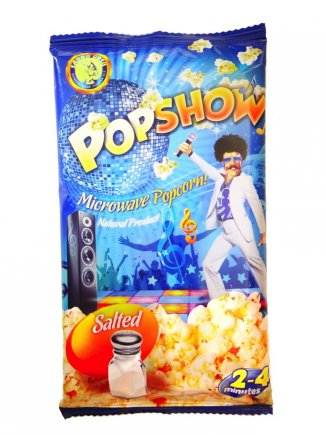 Microwave Popshow popcorn with salt Popshow