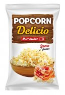 Microwave popcorn with becon flavor Delicio