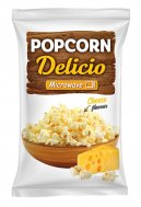 Microwave popcorn with cheese flavor Delicio