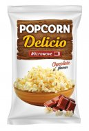 Microwave popcorn with chocolate Delicio