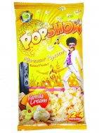 Microwave popcorn with vanilla-cream Popshow