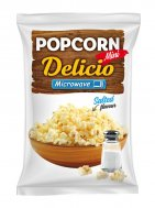 Microwave popcorn with salt Delicio Mini
