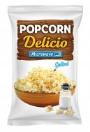 Microwave popcorn with salt Delicio