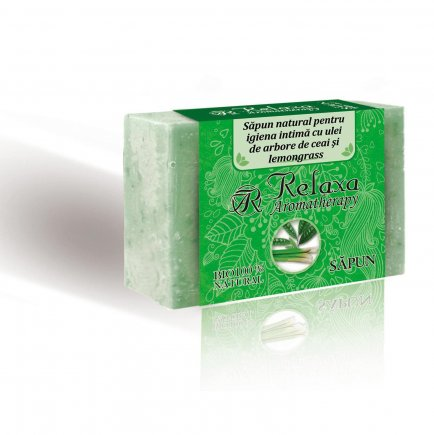 Soap with essential oil of Lemongrass and Tea Tree