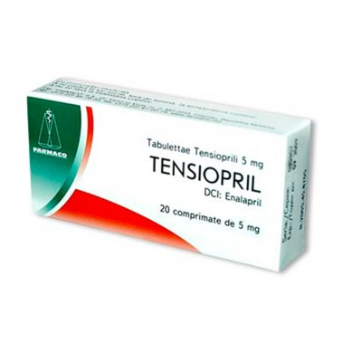 TENSIOPRIL comprimate 5mg, 10mg, 20mg
