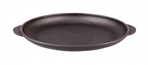 "Cast iron pan with 2 ""ears"""