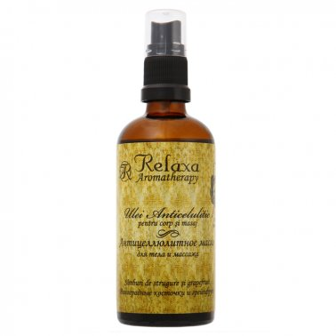 Anticellulite body and massage oil