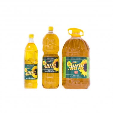 "Sunflower Oil ""Auriu"""