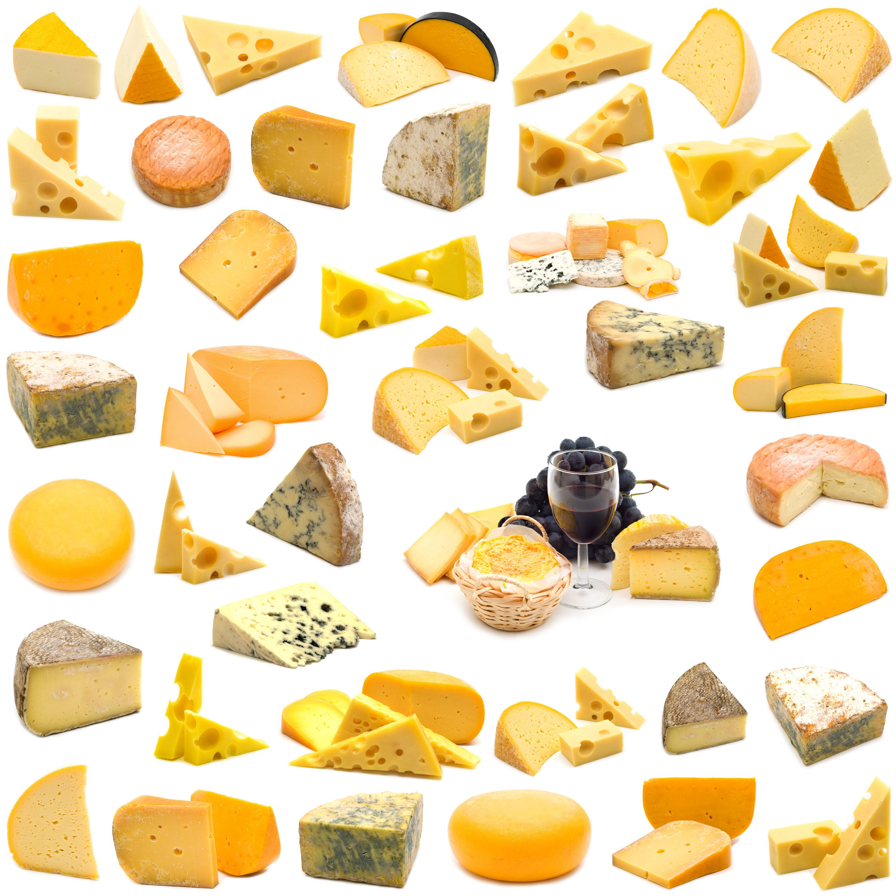 Main Types Of Cheese And Their Distribution In The World