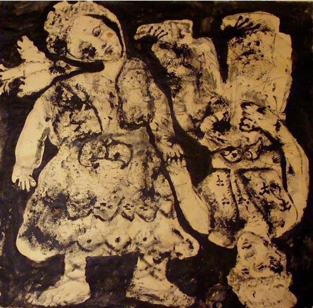 Pictură: Dragobetele de Otto Constantin